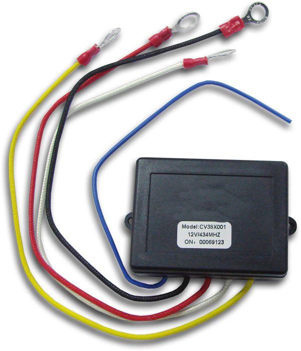 Пульт дистанционного управления лебедкой Electric Winch, усиленный, 12В. EW0023 - Пульты, разъемы, кабели - Туризм 4х4 - Внедоро